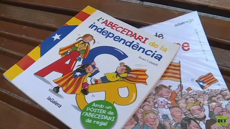 'I' for 'independence': Catalan ABC spells out sovereignty to children   %Post Title