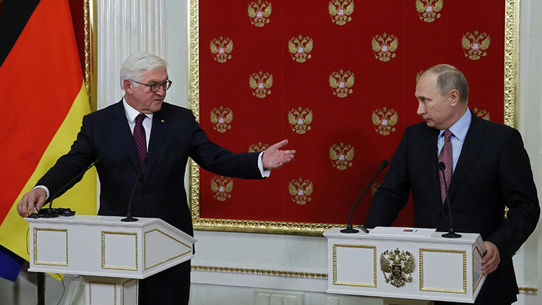 Germany's Steinmeier: Relations with Russia too important, countries must find bond