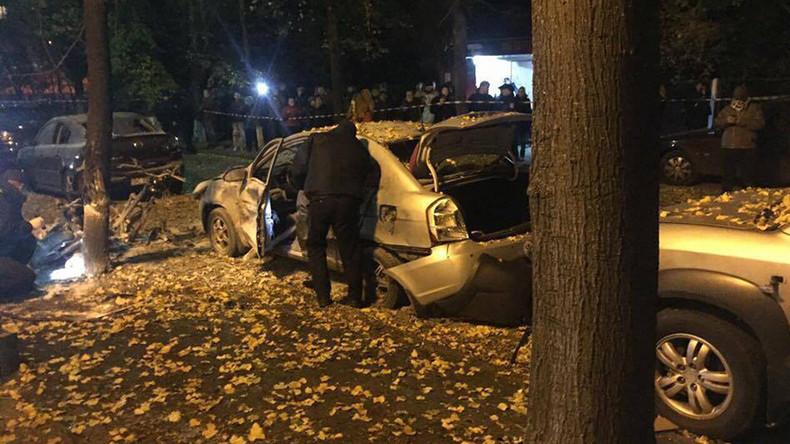 1 killed, 4 injured including MP in Kiev blast treated as 'terrorist act' (PHOTOS)