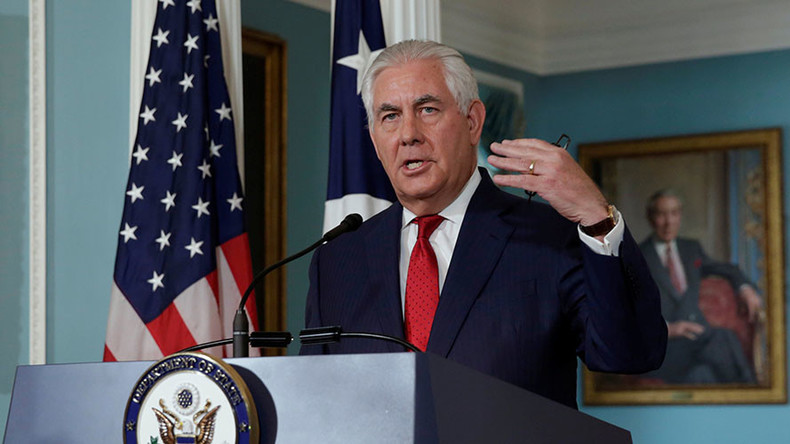 Tillerson: Assad family reign coming to end, only issue is how to bring it about