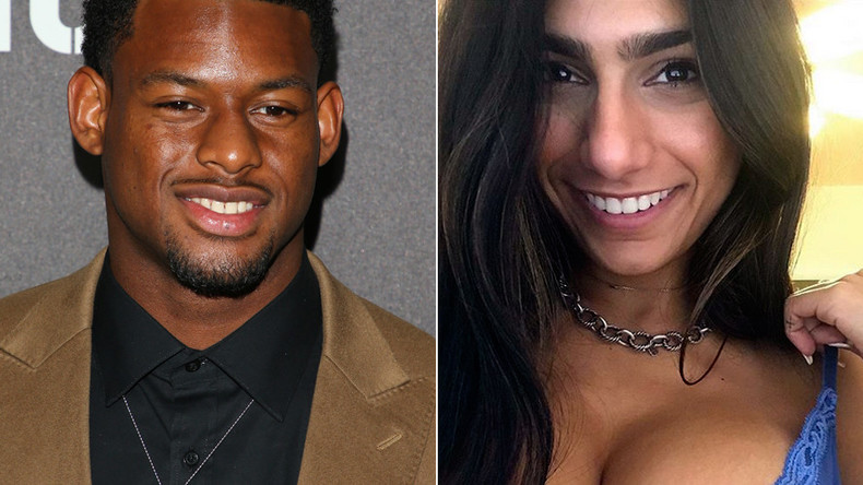 NFL star roasts porn star turned-host Mia Khalifa over Twitter flirting attempt
