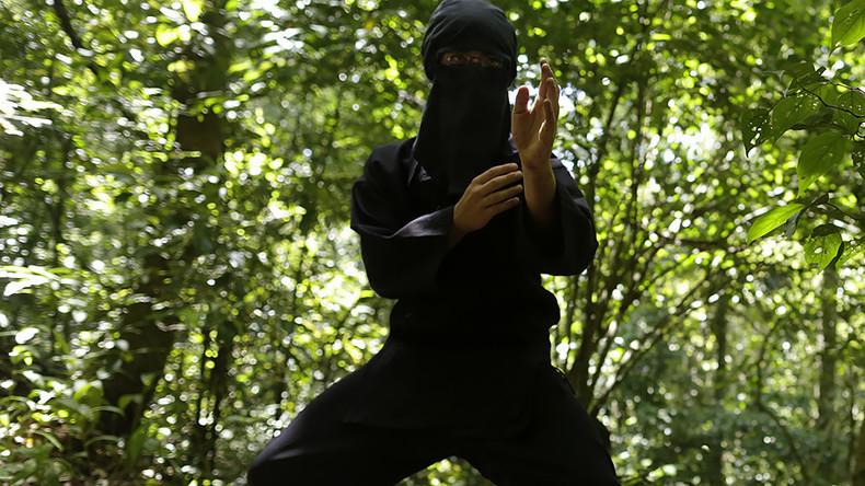 Japanese cops arrest 74yo 'ninja' thief