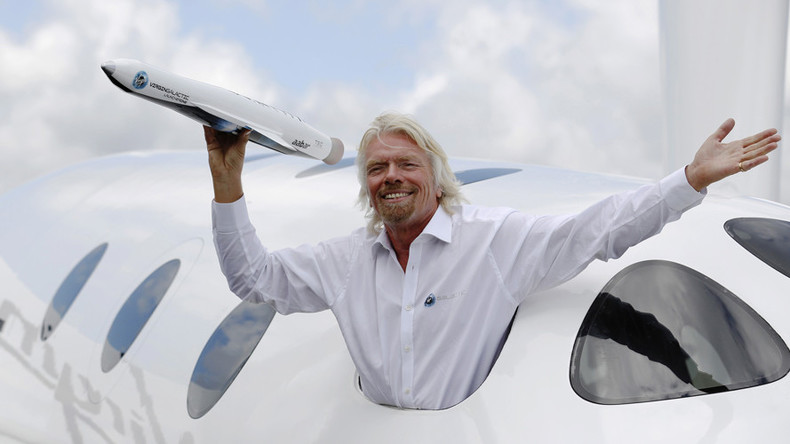 Saudi Arabia to invest $1bn in Richard Branson's space companies