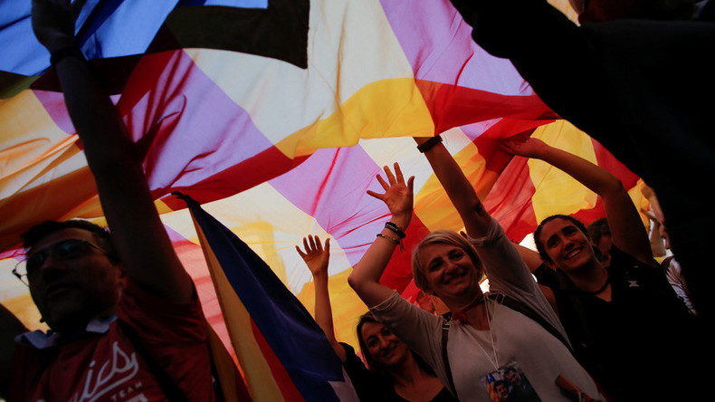 'Madrid can only act by force': Spain & Catalonia on a collision course
