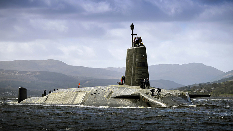 High seas: Failed drug tests see 9 nuclear sub sailors fired by Royal Navy