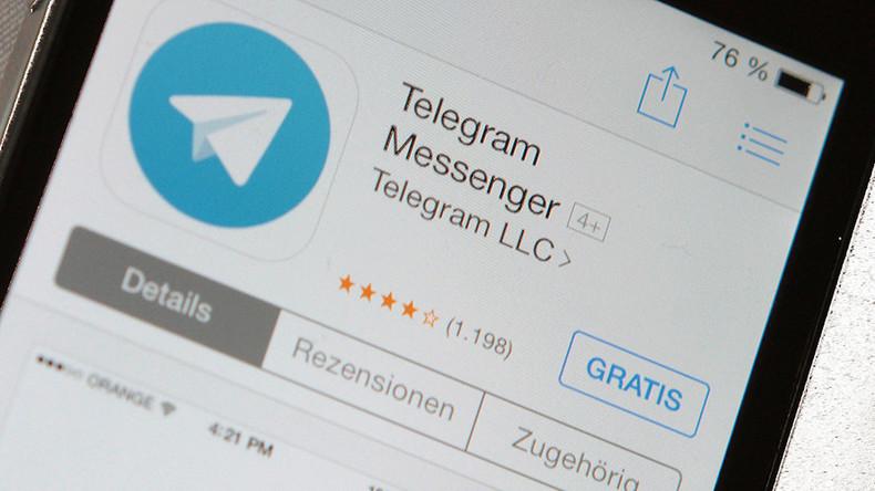 Telegram channel block