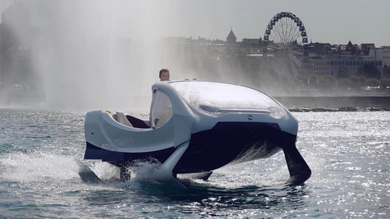 Flying water taxis coming to Switzerland next year