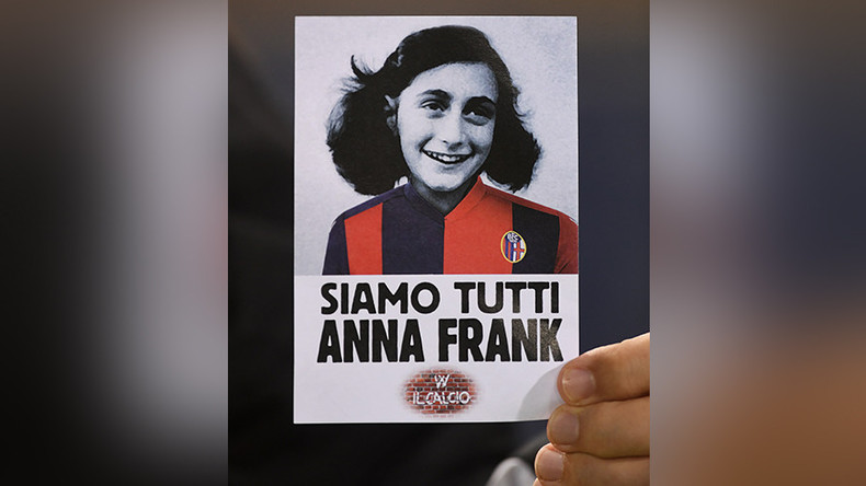 Anti-Semitic Anne Frank stickers appear in Germany in copy of Lazio ultras' behavior