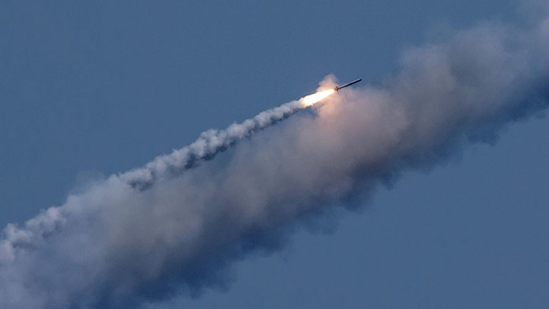 Russian submarine strikes ISIS command in Syria with Kalibr cruise missiles from Mediterranean