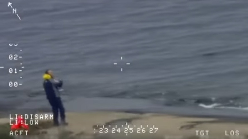 Moss code: Shipwrecked Russian sailor rescued after spelling out 'HELP' on rocks (VIDEO)