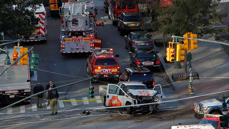 8 dead, at least 11 injured in Manhattan terrorist attack