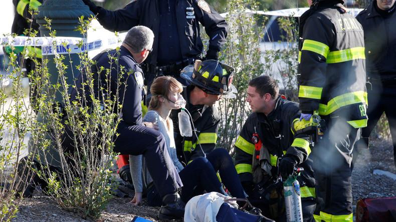 Videos show Manhattan terrorist attack suspect, victims & aftermath (GRAPHIC)