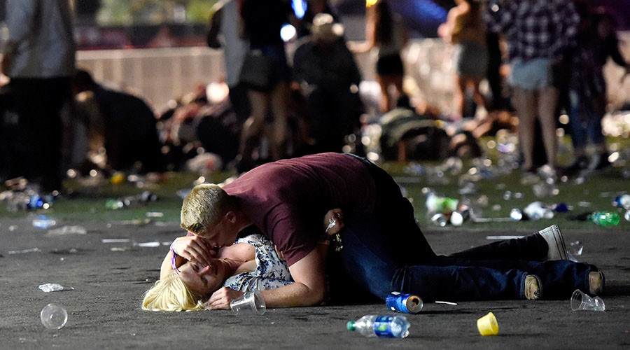 'Horror show': Vegas eyewitnesses recount chaos of Mandalay Bay shooting