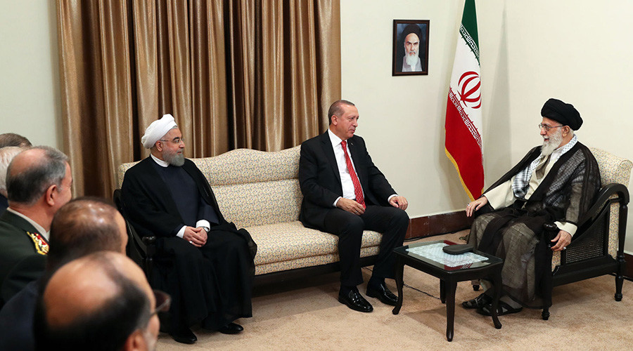 Turkish & Iranian leaders unite against Kurdish referendum, accuse Mossad of meddling
