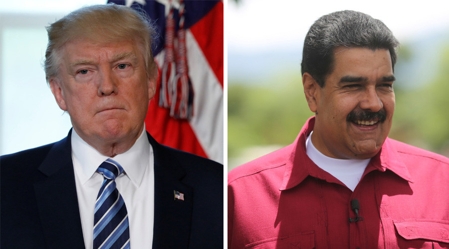 'Trump's reading from his notes, doesn't know where Venezuela is' – Maduro