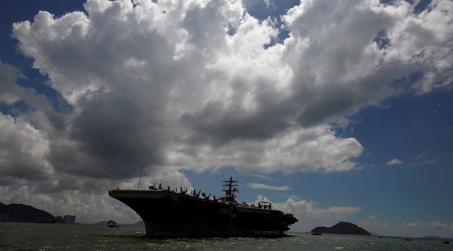 US warship approaches Korean Peninsula for drills with South Korea