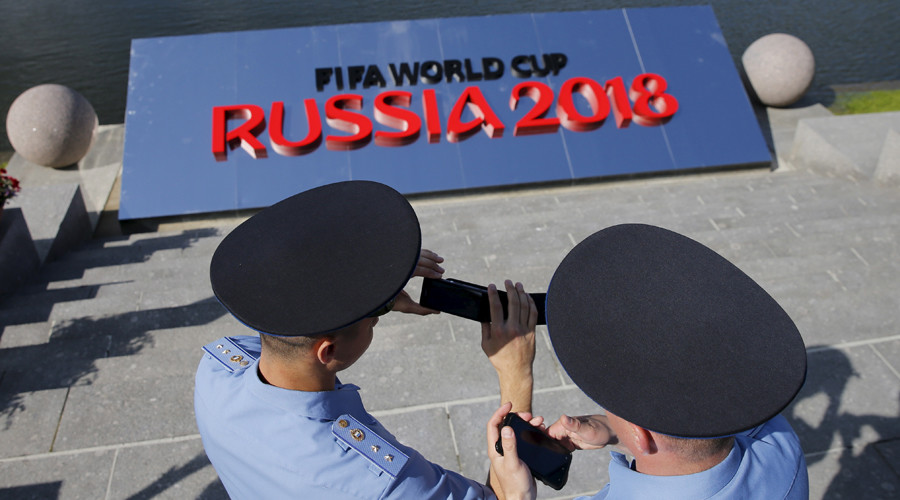 'Consistent reassurance of safe event' - UK's top football police chief on Russia 2018
