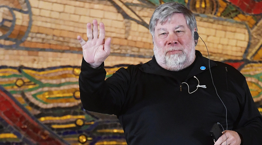 'I'm not afraid of robots and you shouldn't be' – Steve Wozniak