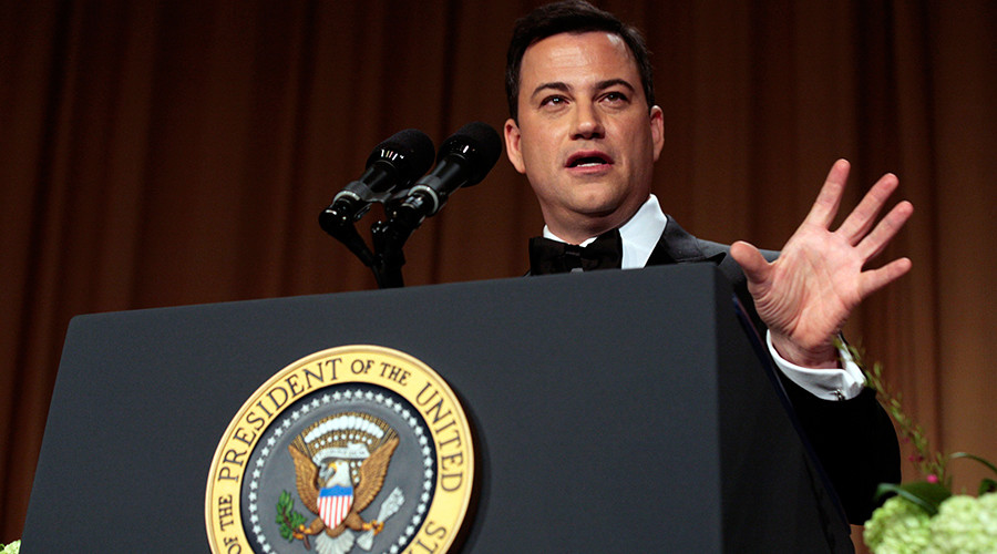 'Donald Trump Live!' Jimmy Kimmel offers president his show if he quits White House