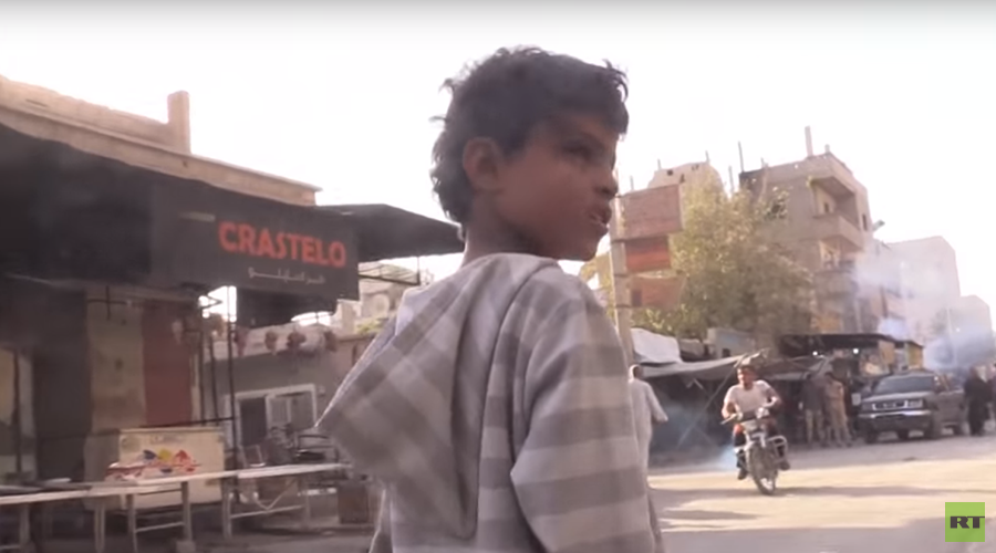 Trapped in warzone: RT meets Syrian children fighting for survival in liberated Deir ez-Zor