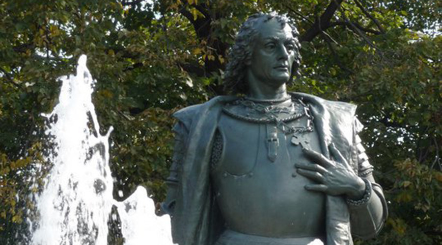 'Mass murderer': Columbus statues in US vandalized on Columbus Day