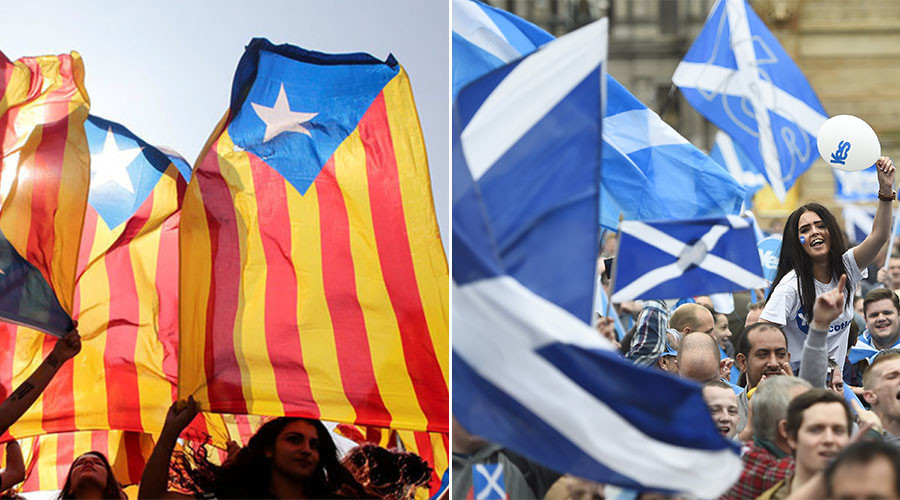 Are Scotland and Catalonia's independence struggles symptoms of EU oppression?