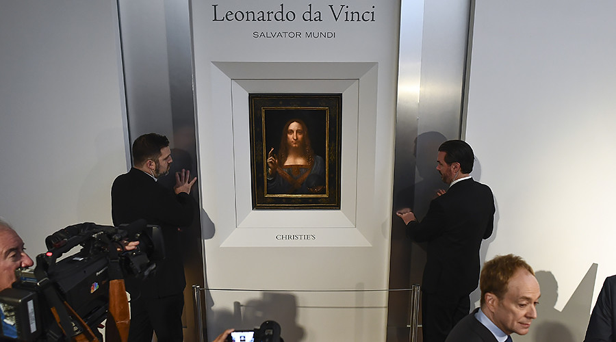'Holy Grail of art rediscoveries': Da Vinci masterpiece expected to fetch $100mn at auction