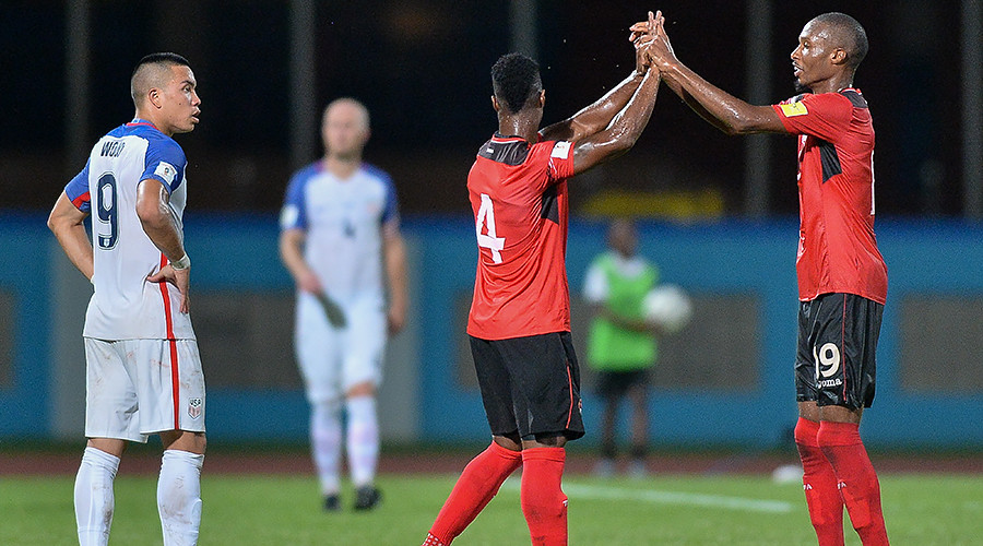 US miss 1st FIFA World Cup in 3 decades after 2-1 loss to Trinidad & Tobago