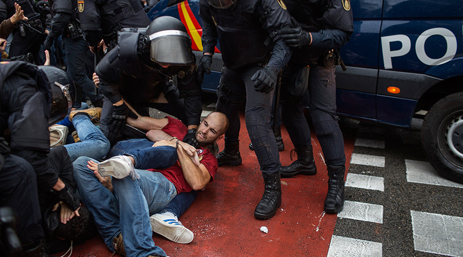 Spanish police used excessive force in Catalonia during referendum – HRW