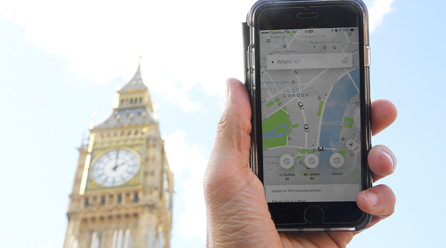 Uber appeals loss of license in London