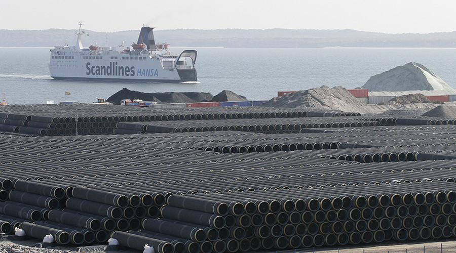 Russia will re-route Nord Stream 2 natural gas pipeline if Denmark tries to block it
