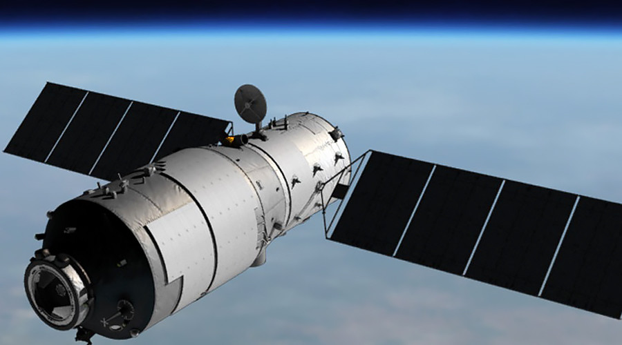 Chinese space station falls on Earth's surface