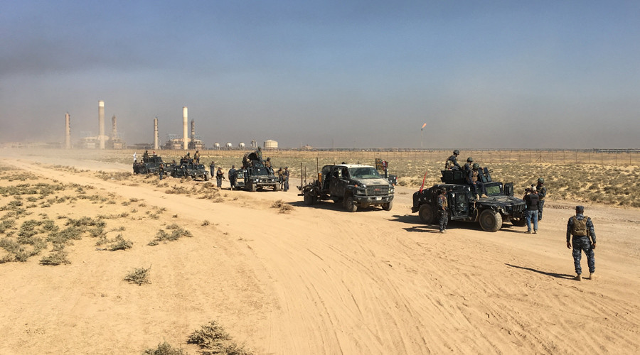 Iraqi military advances in Kirkuk, captures key positions from Kurdish forces