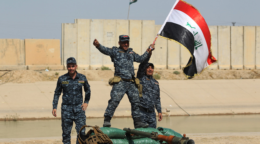 Oil prices rising as Iraqi forces advance on Kurdish-held territory