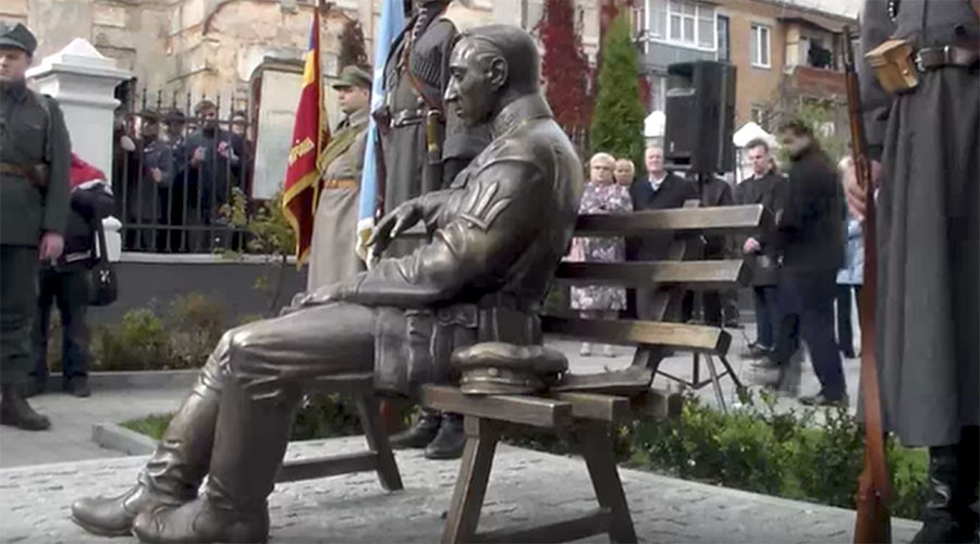 Ukraine opens monument to nationalist icon Petliura responsible for anti-Jewish pogroms