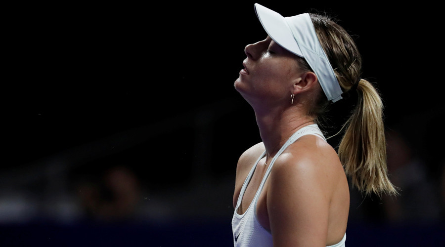 Sharapova crashes out at 1st round of Kremlin Cup in Moscow