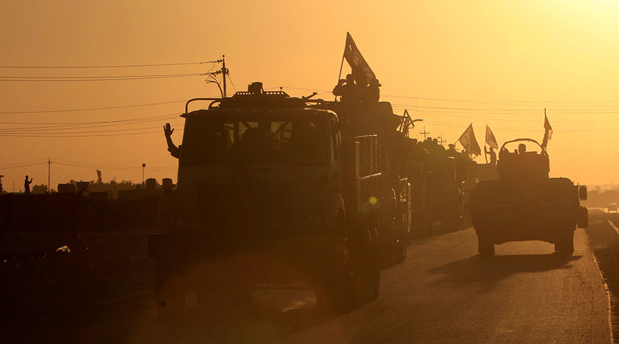 61,000 flee Kirkuk as Iraq says Kurdish independence 'a thing of the past'