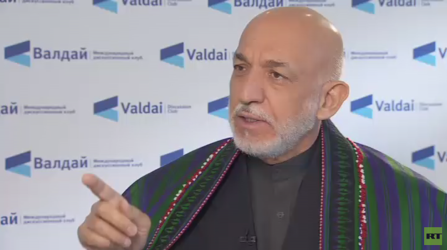 ISIS in Afghanistan is US tool to cause trouble in whole region – ex-Afghan President Karzai to RT