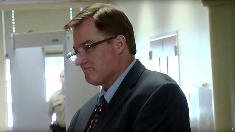 Oklahoma ex-cop convicted of killing daughter's black boyfriend