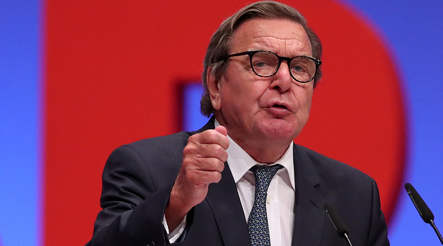 Washington's economic war against Russian gas supplies to Europe unacceptable – Gerhard Schroeder