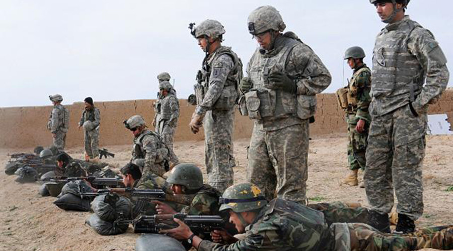 More Afghan troops flee military training in US – report