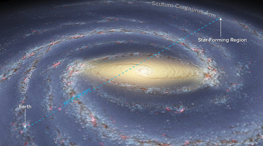 'Other side of the galaxy': Interstellar survey paves way for detailed map of the Milky Way
