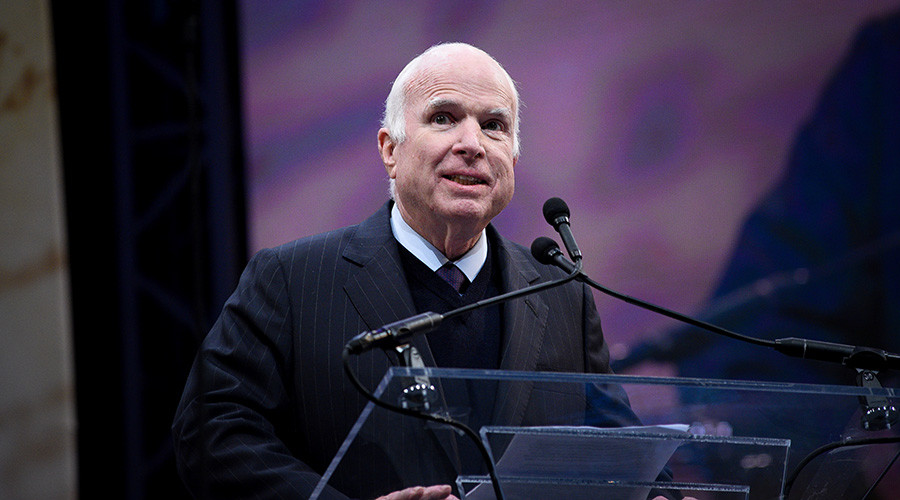 McCain blasts draft-dodging Trump for Vietnam 'bone spur' excuse