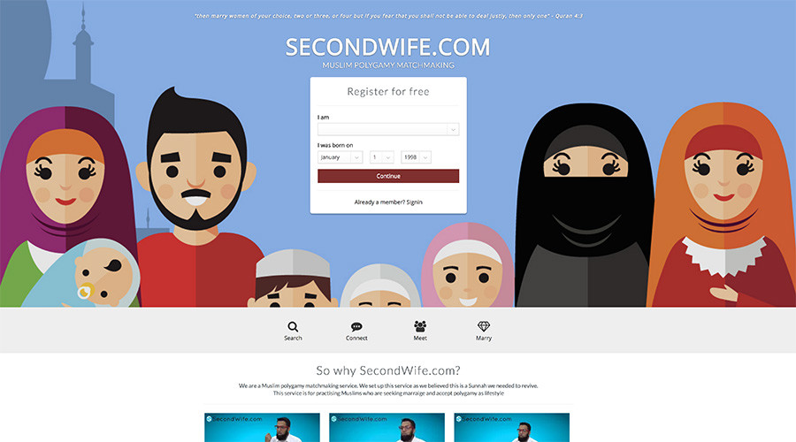 100,000 Brits sign up for polygamous dating site helping Muslim men find multiple wives