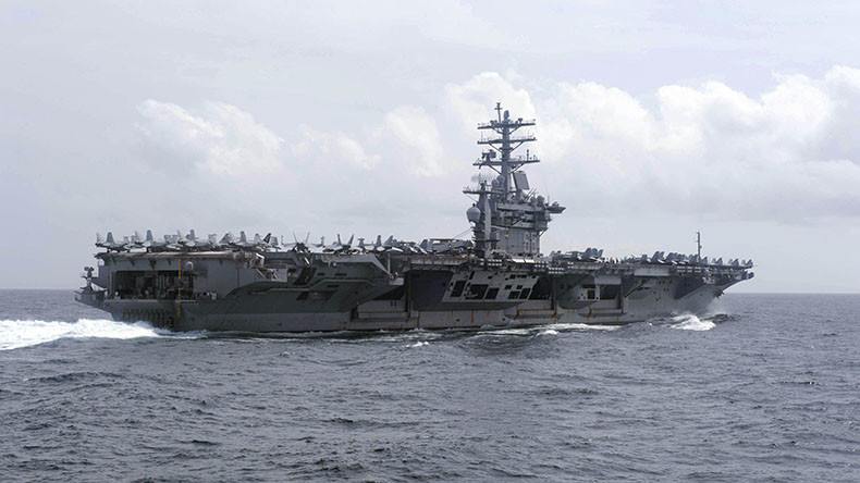 US sends 2 more aircraft carriers to Pacific ahead of Trump's East Asia trip