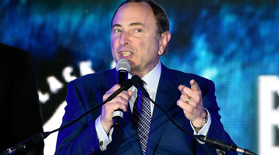 'Fans don't like to come for political rallies' – NHL commissioner on anthem protests