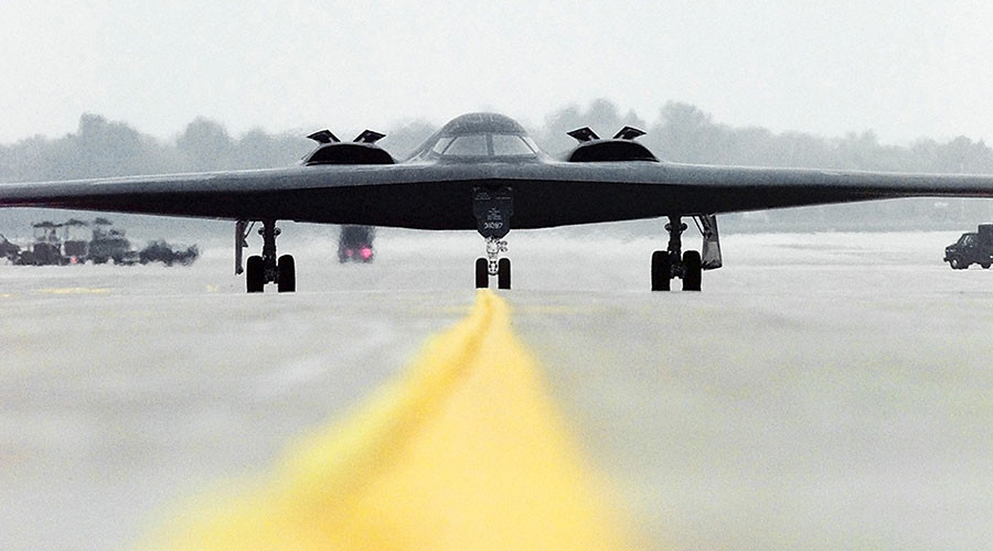 US nuclear-capable B-2 stealth bomber flies mission to Pacific ahead of Trump's visit to Asia