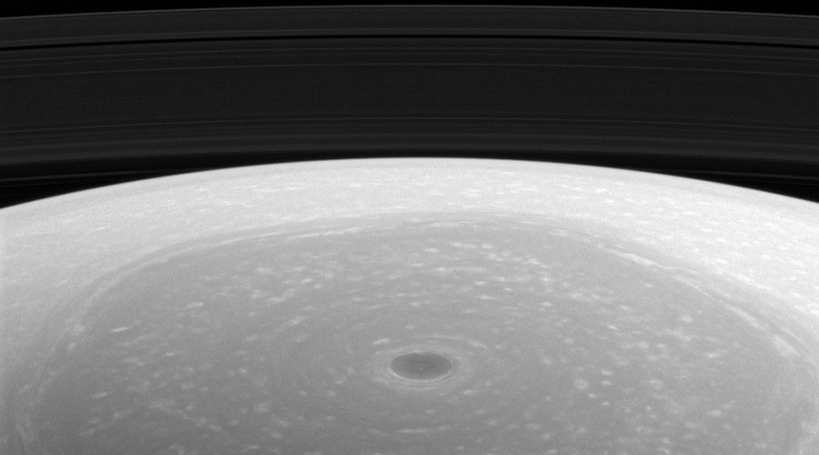 NASA snaps stunning view of 'Saturn's hexagon' at its north pole (PHOTO)