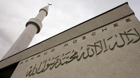A general view shows the Mahmud Mosque in Zurich © Arnd Wiegmann