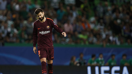 Barcelona's defender Gerard Pique. © Carlos Palma / Global Look Press
